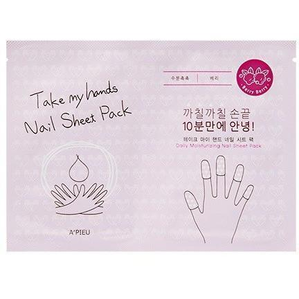 A'PIEU Take My Hands Nail Sheet Pack