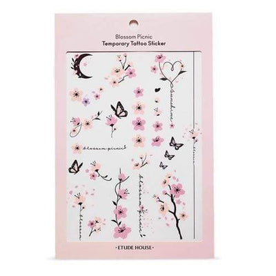 ETUDE Blossom Picnic Temporary Tattoo Sticker