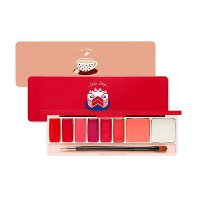 ETUDE Play Color Lip and Cheek Palette Tea Time