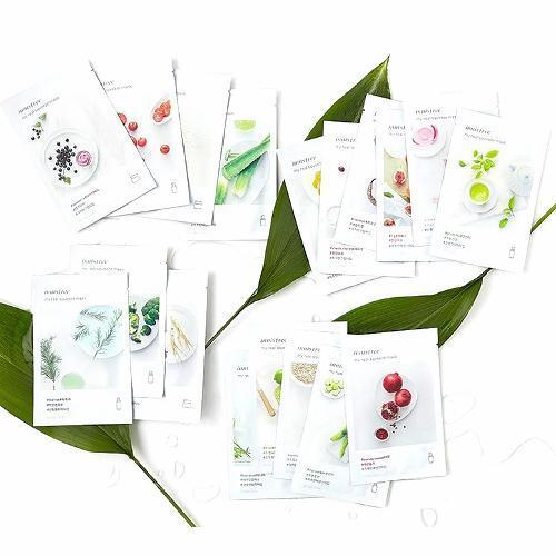 INNISFREE IT'S REAL SQUEEZE MASK NEW LINE A SET OF 18 KINDS