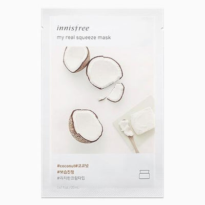 INNISFREE IT'S REAL SQUEEZE MASK NEW LINE
