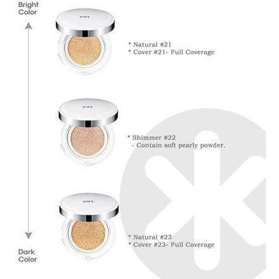 IOPE NEW AIR CUSHION Natural Glow SPF50+ PA+++