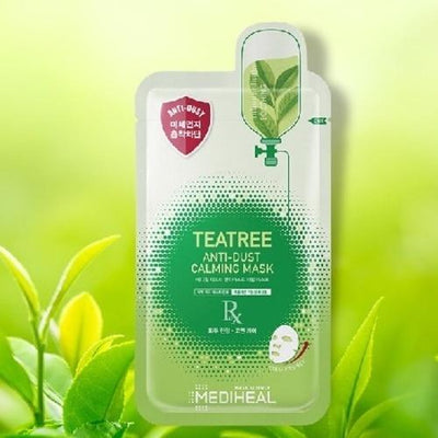 MEDIHEAL Teatree Anti-Dust Calming Mask 10 sheets