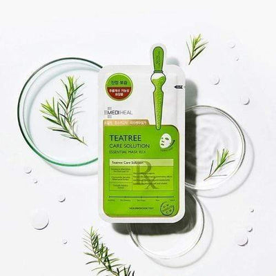 MEDIHEAL Teatree Care Solution Essential Mask REX 10 sheets