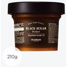 SKIN FOOD Black Sugar Perfect Essential Scrub 2X