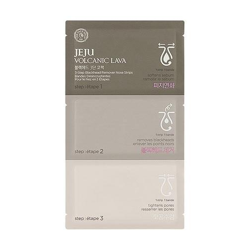 THE FACE SHOP 3-STEP Blackhead Remover Nose Strips Pack