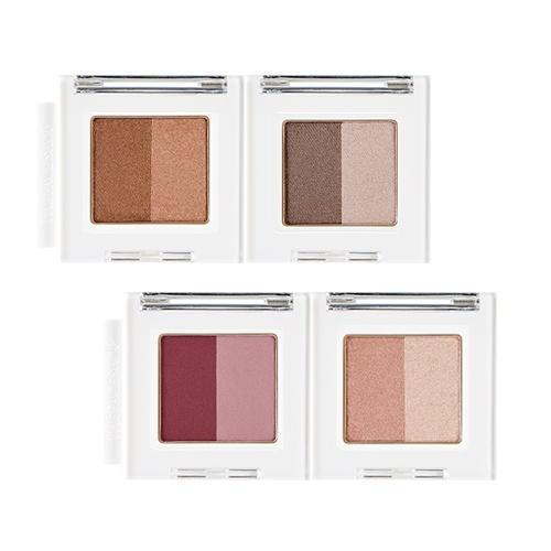 THE FACE SHOP Mono Cube Eyeshadow Dual