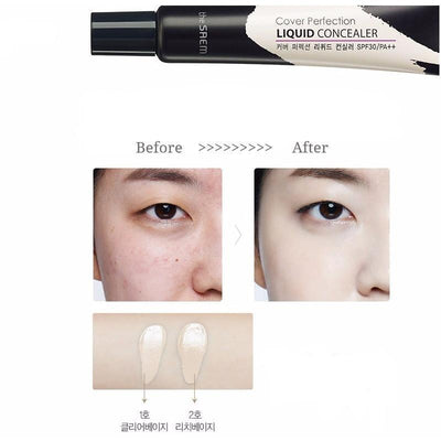 the SAEM Cover Perfection Liquid Concealer SPF30 PA++