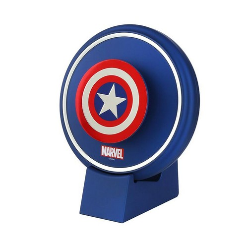 Marvel Aladdin Cordless Air Purifier with E-Nano Filter - Captain America