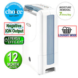 Ionmax - ION612 Desiccant Dehumidifier with Silver Nano Air Filter Andatech