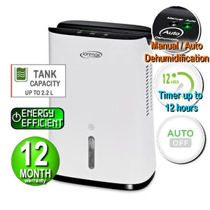 Ionmax - ION681 Portable Compact Dehumidifier Andatech