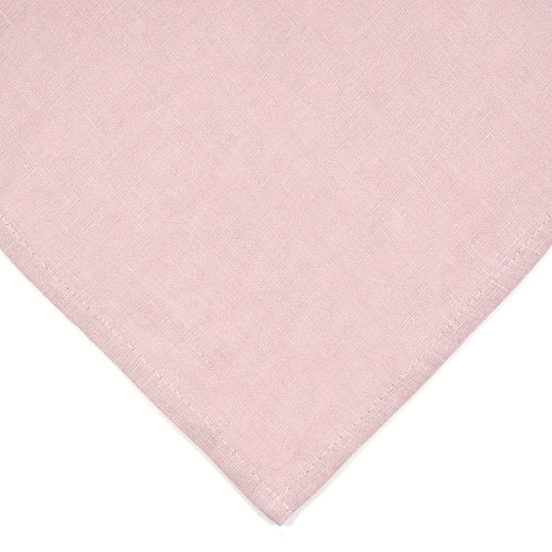 Blush Pink Linen Napkins - Set of 8