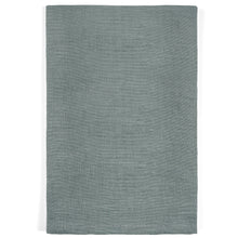 Light Steel Grey Linen Napkins - Set of 8