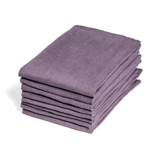 Deep Lavendar Linen Napkins - Set of 8