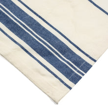 French Country in Blue Stripes Cotton Cloth Napkins {Set of 6}