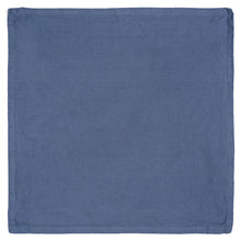 Stonewashed Blue Cotton Cloth Napkins {Set of 6}