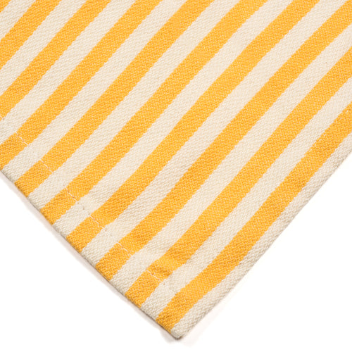 Yellow & White Striped Cloth Napkin {Set of 6}