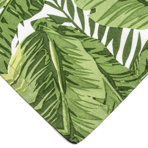 Tropical Banana Leaf Cloth Napkins {Set of 6}