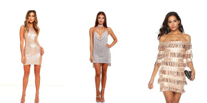 Trending Sequin Party Dresses