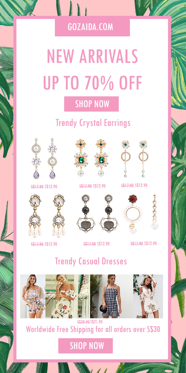 Trendy Crystal Earrings for Women
