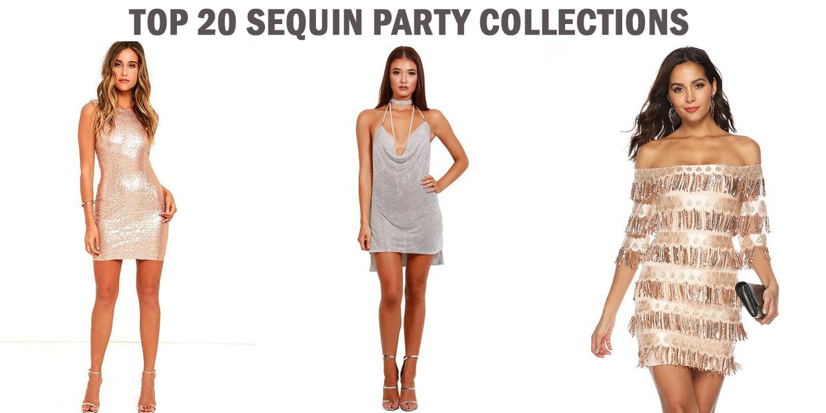 Top 20 Sequin Party Dresses