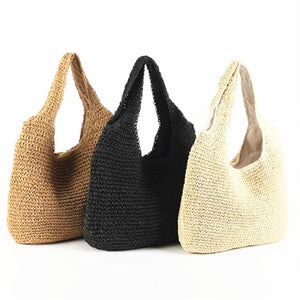 Summer Holiday Straw Bags  - Zaida Fashions