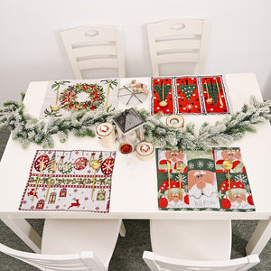 Christmas Table Mat Decorations