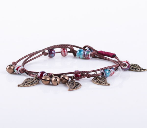 Multi Layer Ceramic Bracelet  - Zaida Fashions