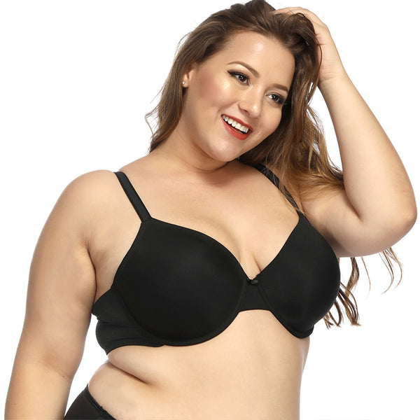 Plus Size Underwire Everyday Bra  - Zaida Fashions