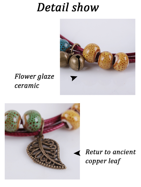 Ceramic Fashion Bracelet  - Zaida Fashions