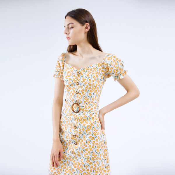 Sexy Fashion Can Be Customized Summer Casual Dress For Lady Women