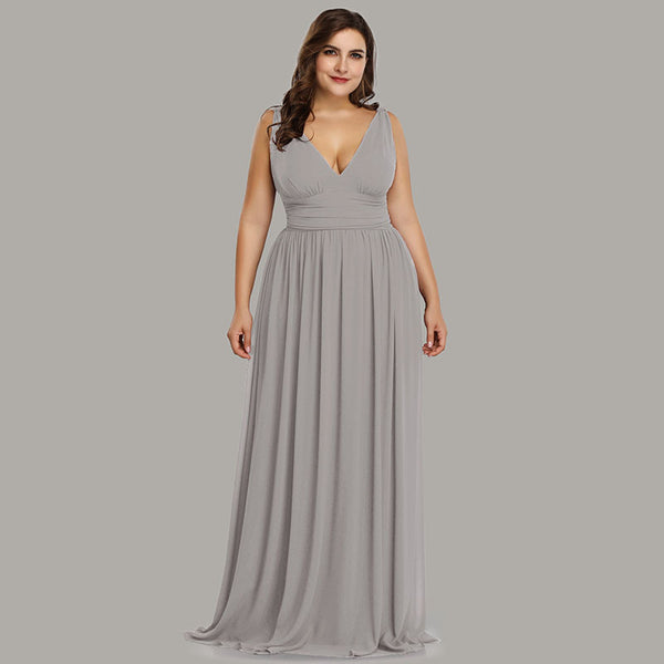 Plus Size Long Party Dress Size 4 to 22