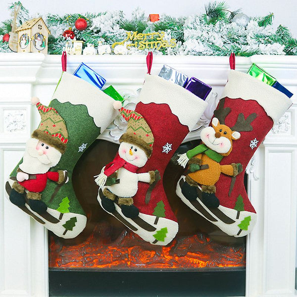 Christmas Stockings 22.5x45cm