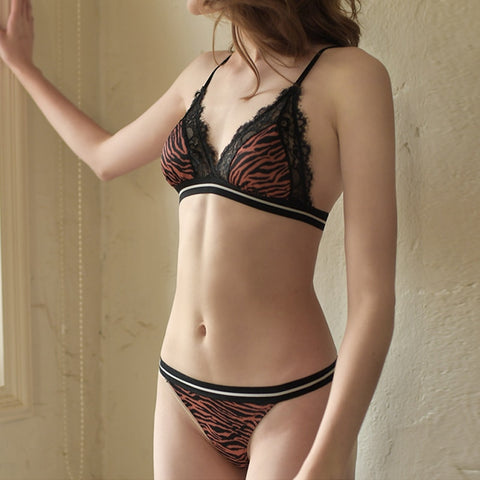 Leopard Print Bra set S to XL