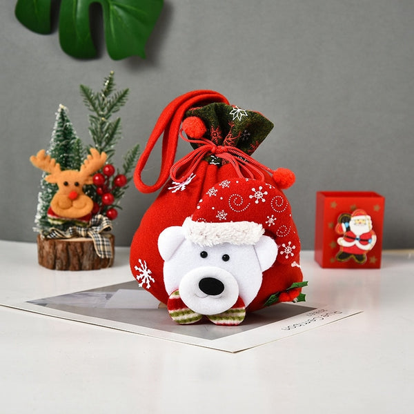 Kids Christmas Candy Bag Decorations