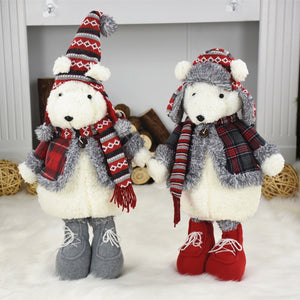Christmas Cute Bear Decorations