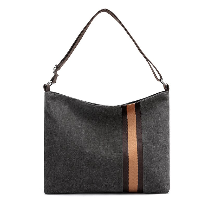 Canvas Casual Tote Crossbody Bag