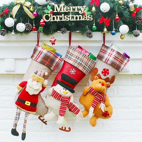Christmas Stockings Bags 24x59x21.5cm
