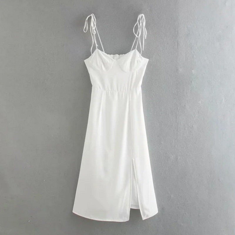 White Bodycon Party Dress S to L