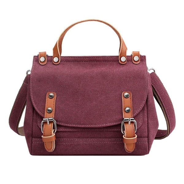 Retro Style Canvas Shoulder Bags