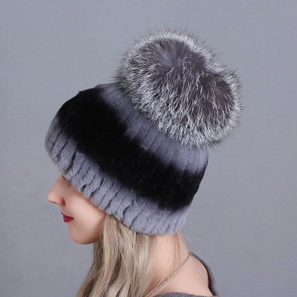 Winter Fluffy Thick Fur Hats  - Zaida Fashions
