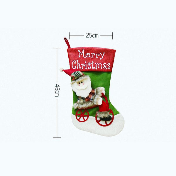 Christmas Stockings 25x46cm