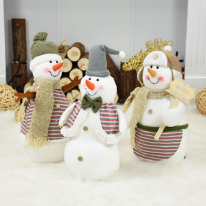 Santa Claus Christmas Snowman Doll Decorations