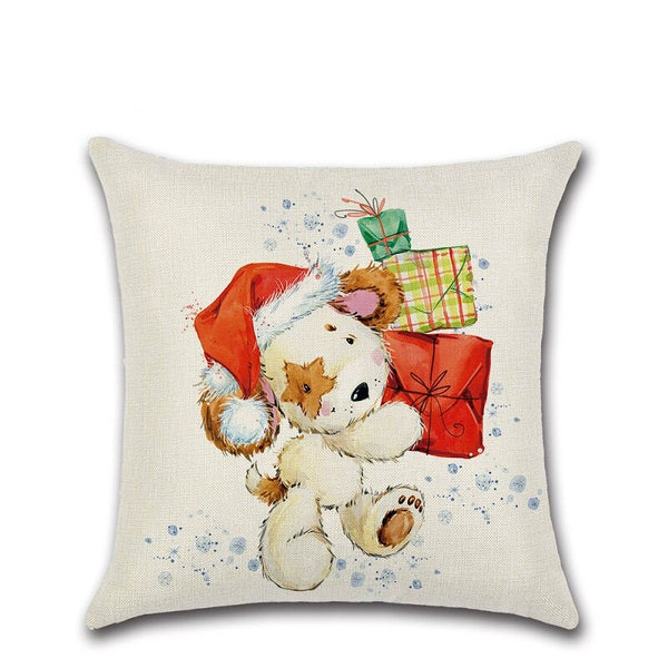 Christmas Santa Claus Pillowcase Cushion Covers 45cm x 45cm