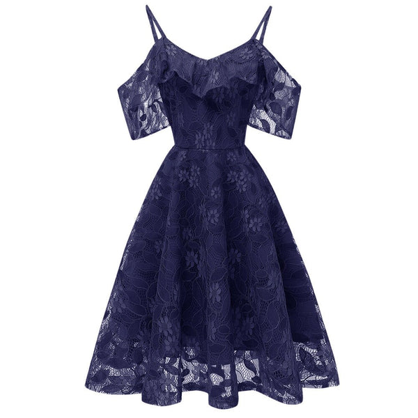 Vintage Style Lace Party Dress S to XXL