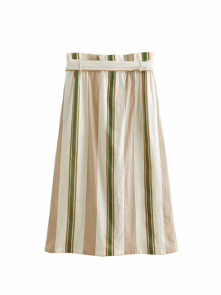 Half-length Cotton Skirts  - Zaida Fashions