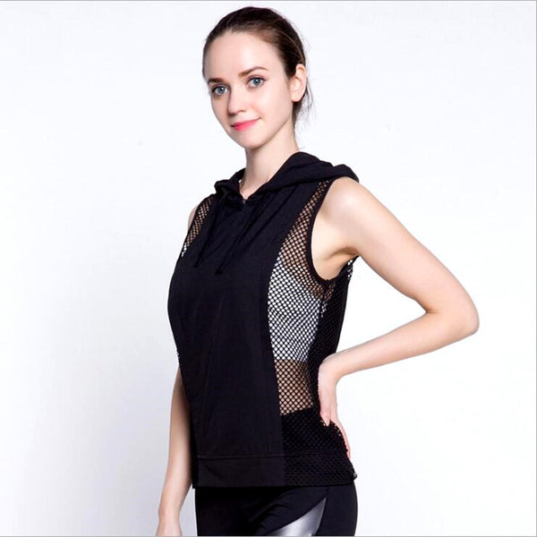 Sleeveless Fitness Top S - L  - Zaida Fashions