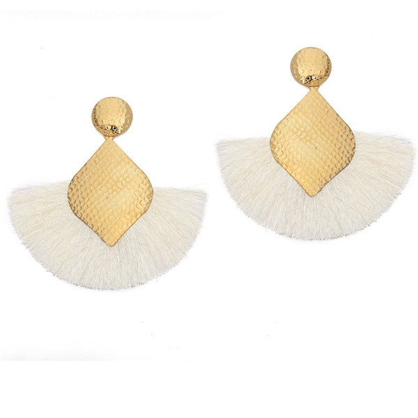 Boho Tassel Earrings  - Zaida Fashions