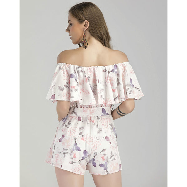 Off Shoulder Summer Rompers  - Zaida Fashions