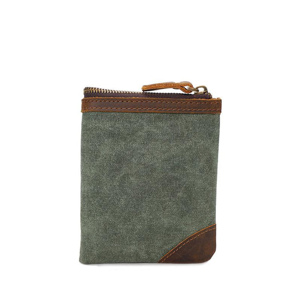 Canvas Multi-card Vintage Short Wallet